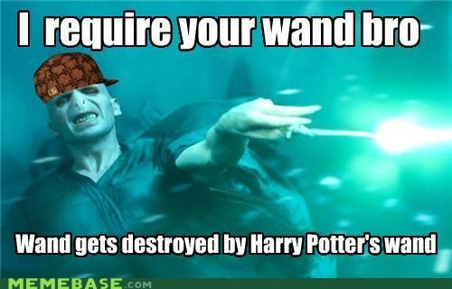 bro,Harry Potter,Scumbag Steve,voldemort,wand