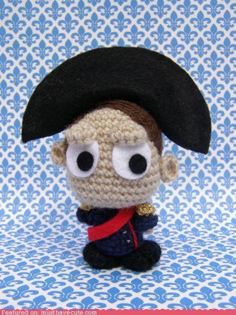 Amigurumi,Crocheted,napoleon