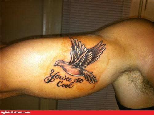 birds tattoos compliments funny - 4464652544