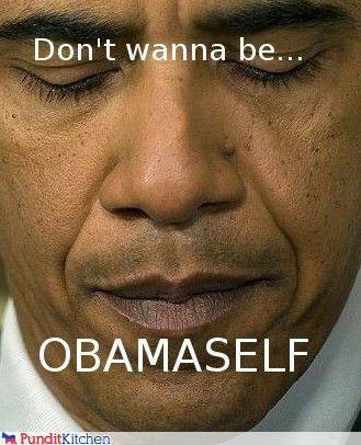 all by myself alone barack obama lyrics president puns song song reference - 4465168896
