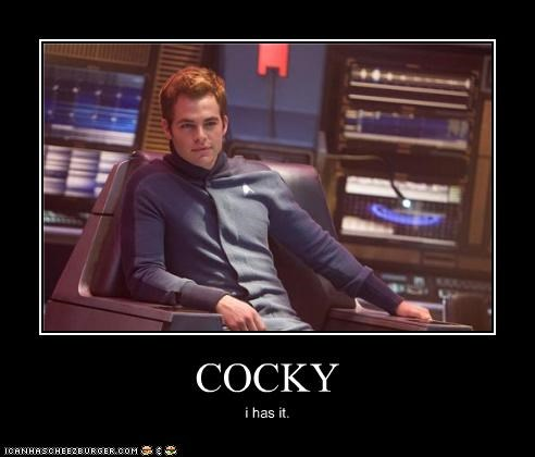 actor celeb chris pine demotivational funny sci fi Star Trek - 4465334272