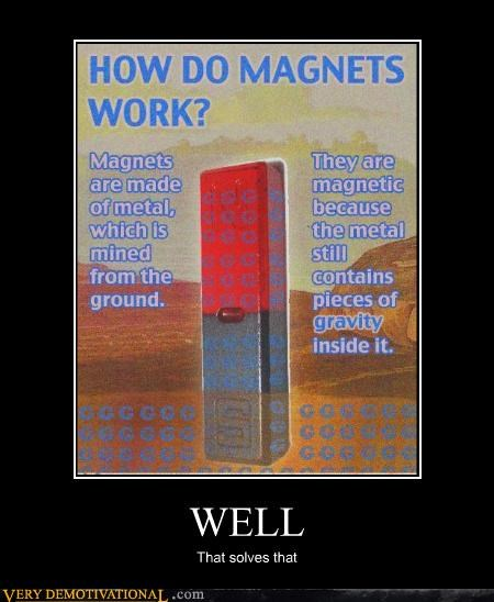 Gravity,magnet,science,wrong