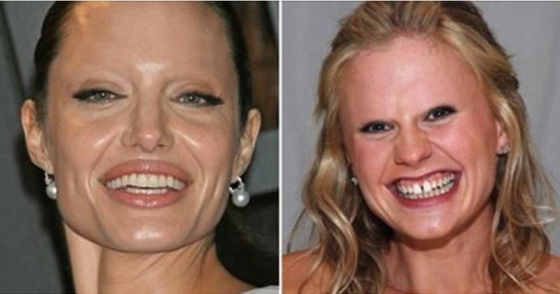 20 famosos sin cejas