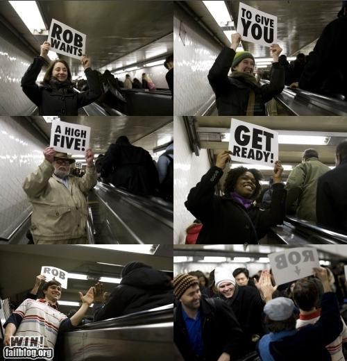 fun high five signs - 4468453632