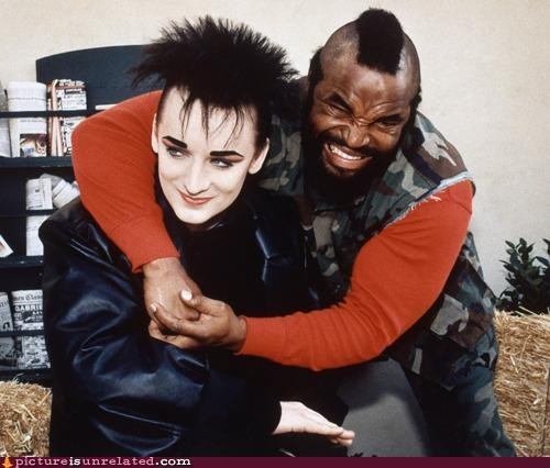1980s,awesome,boy george,mr t,wrestling,wtf