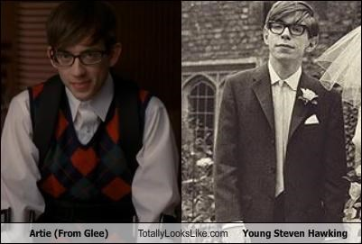 artie abrams glee kevin mchale Steven Hawking young - 4468569344