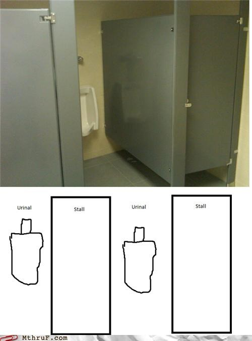 bathroom design stall urinal win - 4468993792