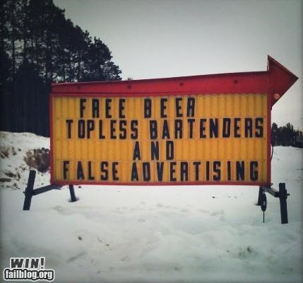alcohol awesome at work beer signs - 4469000192