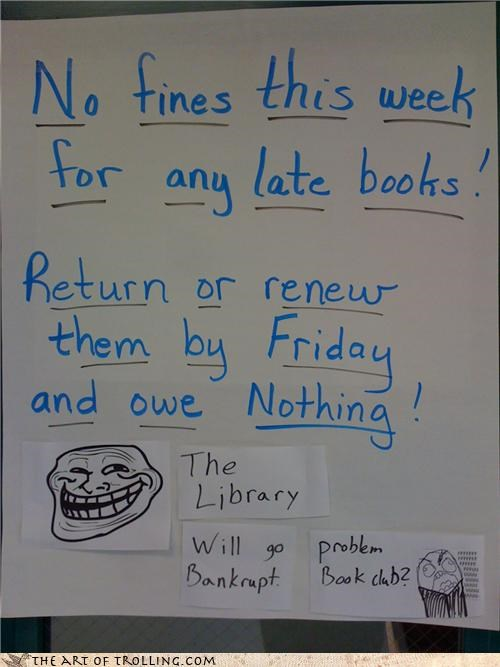 books fines IRL jelly library nerds - 4469116928