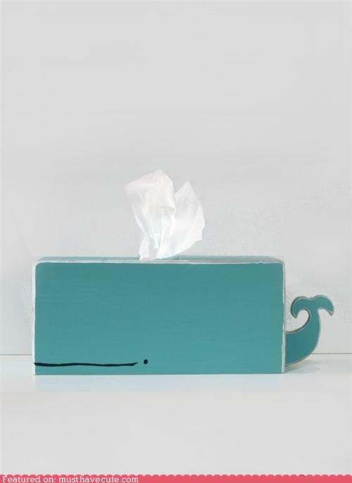 clever cover spout tissue whale wood - 4469447680