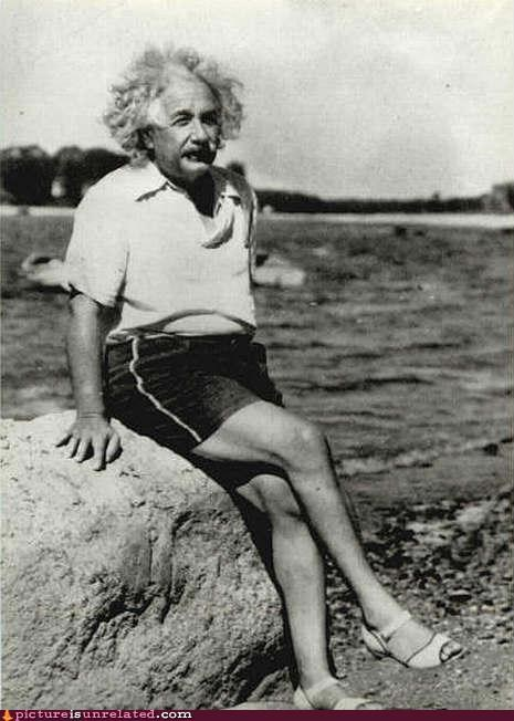 albert einstein awesome shoes wtf - 4470437376
