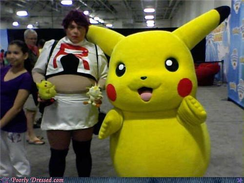 convention,geek,pikachu,Pokémon,Team Rocket