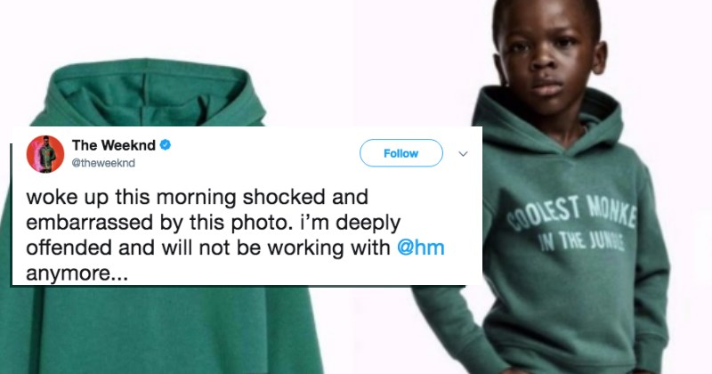 The Weeknd Pulls All Association With H&M After They Release Racist Clothing Ad
