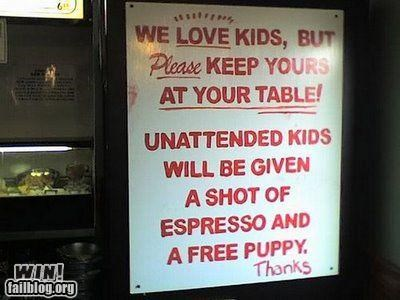 awesome at work kids parenting signs