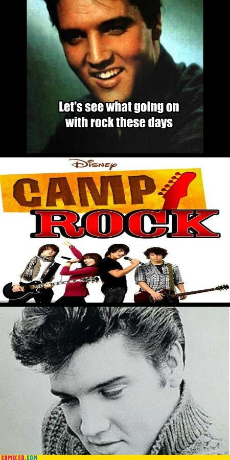 camp rock disney Elvis Presley Music sad but true - 4472238848