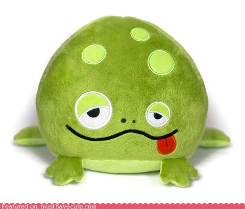 frog huggable Plushie silly soft - 4472461312