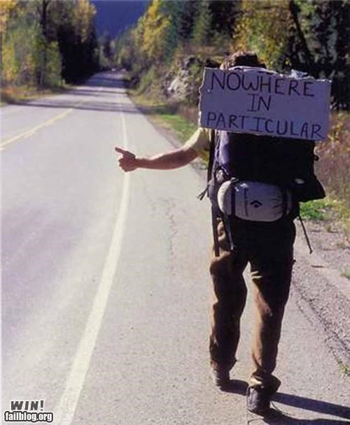 awesome hitch hiking life Travel - 4472479744
