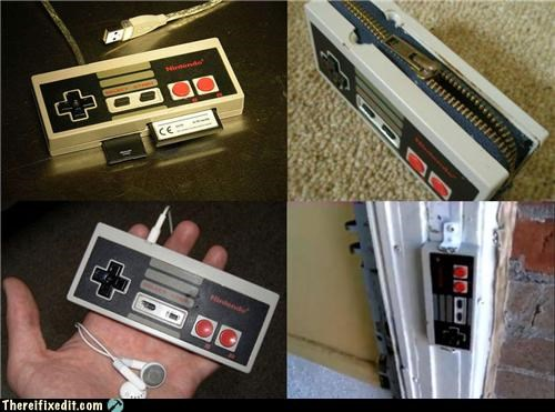 DIY nerdy nintendo poll video games - 4472648192