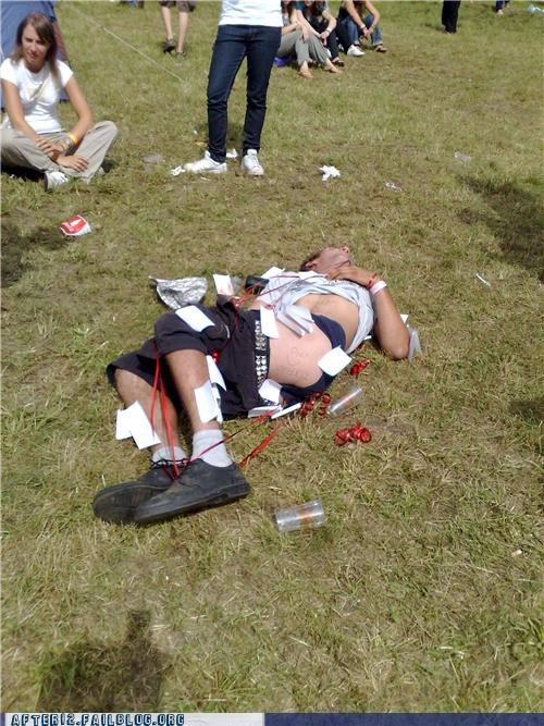 au natural drunk field outdoors passed out - 4472796160