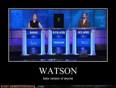 WATSON beta version of skynet