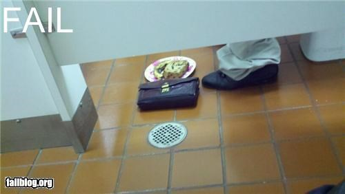 bad idea bathroom failboat food g rated gross sanitary - 4473452544