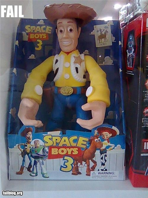 Awkward childrens-toy failboat g rated hands toy story toys - 4473844992