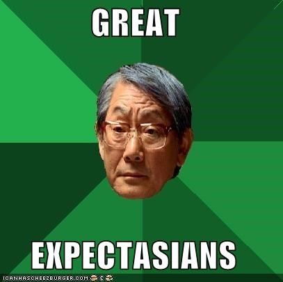 classics,dickens,great books,high expectations asian dad
