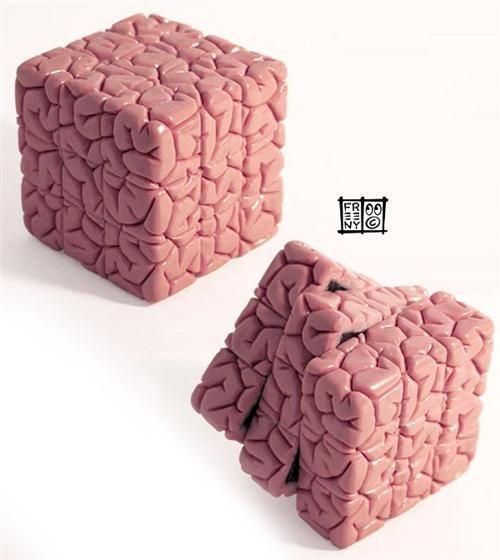 brain cube brains rubiks cube Toyz - 4474736640