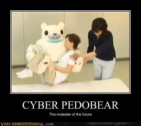 CYBER PEDOBEAR The molester of the future