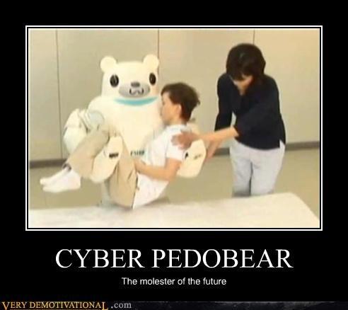 Japan pedobear robot wtf - 4475056384