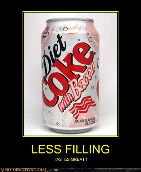 bacon,coke,diet,soda