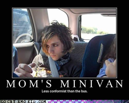 bus,classic,conformist,emo,minivan,mom