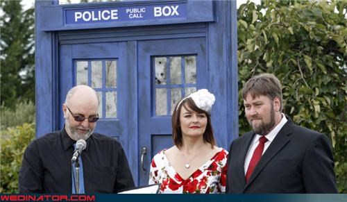 doctor who funny wedding photos geek wedding nerd wedding new zealand - 4475785984