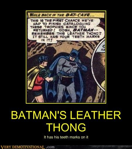batman comics leather robin teethmarks thong - 4475854592