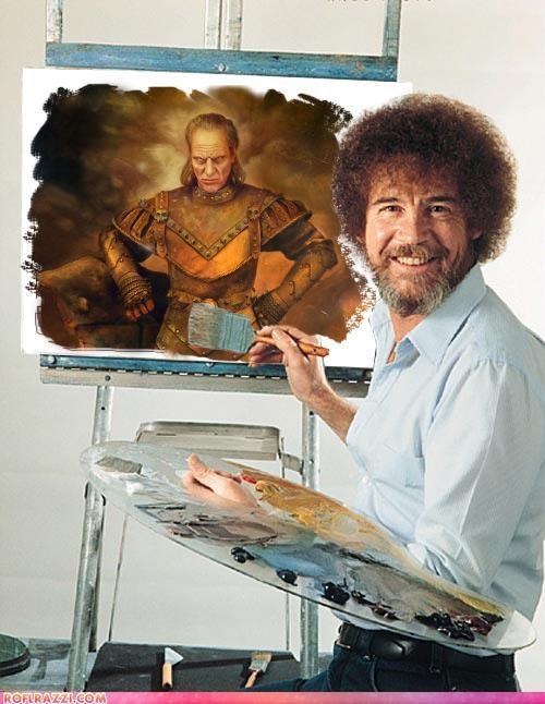 art bob ross funny Ghostbusters Hall of Fame shoop vigo the carpathian - 4475883264