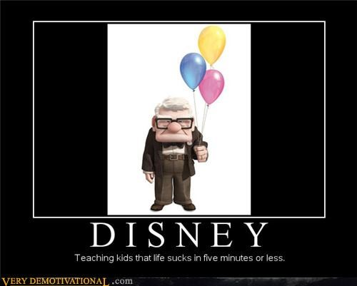 disney old guy Sad up