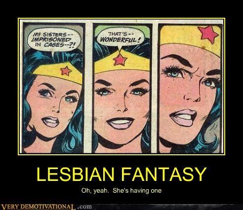 LESBIAN FANTASY Oh, yeah. She's having one