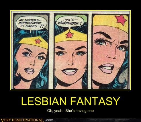 comic books fantasy lesbians wonder woman