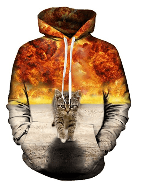 funny 3d cat swaeters