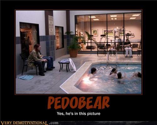 kids pedobear pool - 4476229632