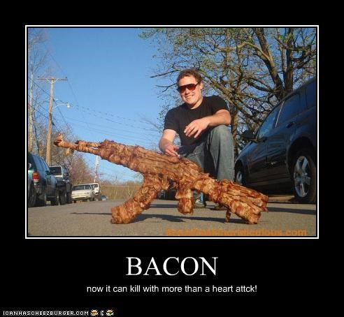 BACON now it can kill with more than a heart attck!