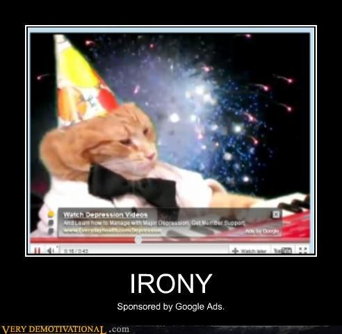 cat Party irony