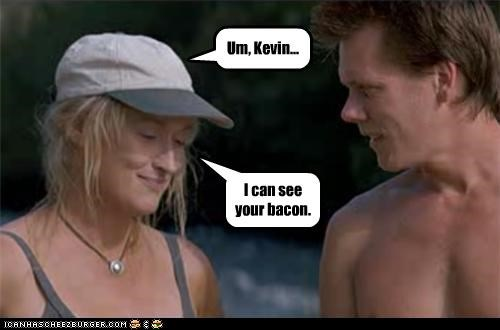 actor celeb funny kevin bacon Meryl Streep - 4476765440