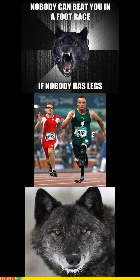 awesome,differently abled,Insanity Wolf,no legs,sports
