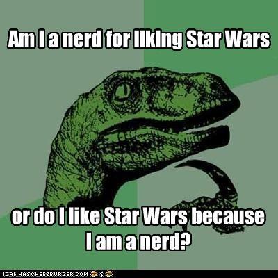 nerd philosoraptor star wars - 4477185280