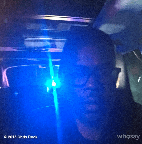 instagram chris rock pulled over - 447749