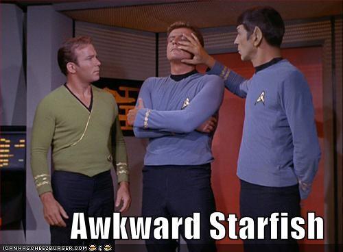 actor,celeb,funny,Hall of Fame,Leonard Nimoy,sci fi,Star Trek,William Shatner
