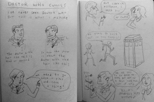 doctor who imagination Kate Beaton Webcomic - 4478175744