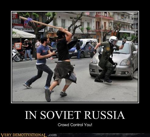 crowd control Soviet Russia - 4478177792