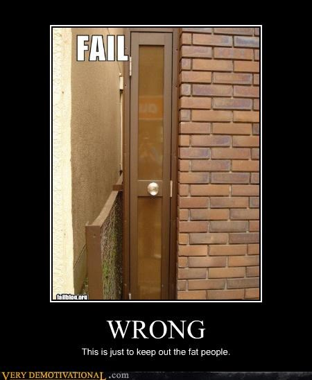 door thin wtf FAIL - 4478665728